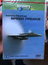 Extreme Machines - Speed Freaks (DVD, 2004) - Region 4