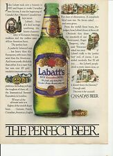 THE PERFECT BEER - Labatt's Beer -  Beer Ad