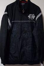 Men's Marc Ecko Unltd. Full Zip Polyester Graffiti Graphic Jacket Size 3XL