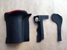Original 3pcs Rubber Grip Set Part for Nikon D500 Digital Camera Repair Assembly