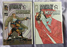Deathblow and Wolverine #1,2 - Richard Bennett~Complete Set/Story~Nm