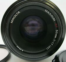 SONY 50MM F/1.7 AF MINOLTA PRIME LENS A Mount DSLR A99 A77 A68 A58 A57 WORKING
