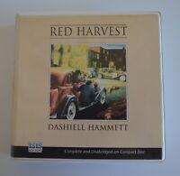 Red Harvest: by Dashiell Hammett - Unabridged Audiobook 6CDs