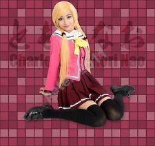Charlotte School Uniform Tomori Nao Yusa Nishimori Cosplay Costume Sailor Suit