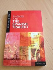 THOMAS KYD, THE SPANISH TRAGEDY, DRAMA/ FICTION