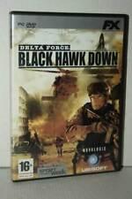 DELTA FORCE BLACK HAWK DOWN GIOCO USATO PC DVD VERSIONE ITALIANA GD1 54306