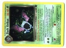 POKEMON ROCKET HOLO card N°  7/82 DARK GOLBAT (Mint Condition) Hard to find