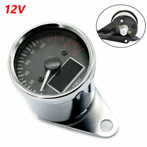 12V Motorcycle Backlight Speedometer Odometer Fuel Meter Gauge Multi-function
