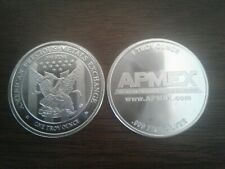 2x 1oz .999 Fine Silver Apmex Eagle Round(24 Hour Auction!)
