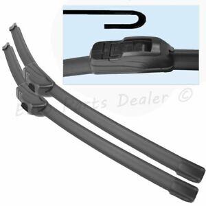 Mini One, Cooper R50 R53 wiper blades 2001-2006 Front