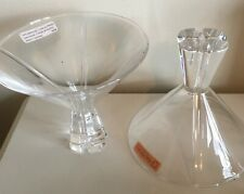 Pair Nachtmann Lead Crystal Martini Glass Glasses Germany