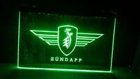 Zundapp Motorrad Bar Bier pub club 3d zeichen LED Neon Zeichen vintage wohnku