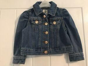 River Island Mini Baby Girls Age 12-18 Months Denim Jacket