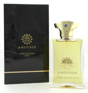 Jubilation XXV Cologne by Amouage 3.4 oz./100 ml. EDP Spray for Men New in Box