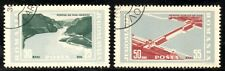 (Ref-10241) Romania 1965 Derdap Hydro-Electric Project  SG.3271/3272  Used (CTO)