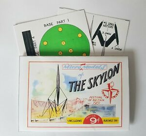 Micromodels THE SKYLON Festival of Britain 1951 Micro New Models card model kit