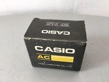 VINTAGE#Casio AC Adapter for Printing Calculators Ad-4150#NIB NUOVO IN BOX