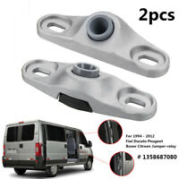 2X Sliding Door Locator Guide Lock Catch For Fiat Ducato Peugeot Citroen 1994-12