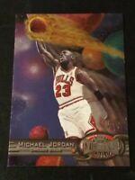 Michael Jordan 1997-98 Metal Universe Basketball. BEAUTIFUL Card! Bulls.