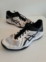 ASICS GEL TACTIC  VOLLEYBALL WHITE BLACK MEN RUNNING SHOES MENS SIZE 13