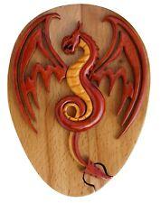 Dragon Handmade Tribal Art Puzzle Box