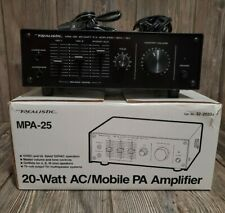 Realistic MPA-25 20W PA Power Amplifier Amp 32-2033A