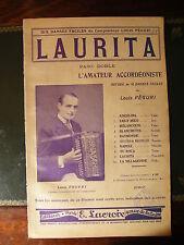 Partition Laurita Paso Doble Louis Peguri