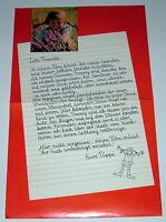 Langstrumpf PIPPI AUSSER RAND UND BAND `71 EA Plakat A3 Text