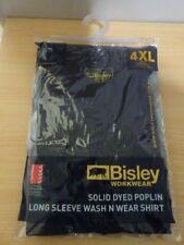 4 XL - Bisley Workwear - Long Sleeve Shirt ...New
