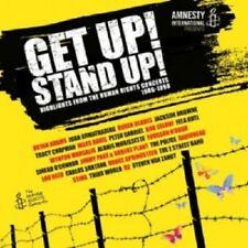 BRYAN ADAMS/PETER GABRIEL/RADIOHEAD/+ - GET UP!STAND UP! 2 CD POP NEW+