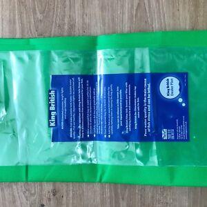 "Joblot 20xAquatic Polythene Bags 19X6"" King British Transport Fish Tank Bags"