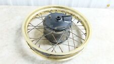 84 Yamaha XT600 XT 600 rear back wheel rim and brake hub