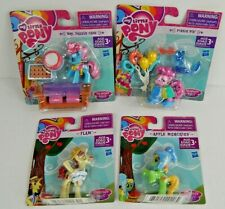 My Little Pony Friendship Is Magic Lot Of 4 Mini Figures Playsets