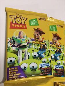 Toy Story 4-FUN y juegos serie 2-6 Juego de Tarjetas-Topps Disney recoger