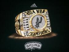 San Antonio Spurs 2014 NBA Champions Ring Black adidas T-shirt Men's Medium used