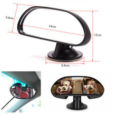 Black Car Auto Baby Child Back Seat Rear View Mirror With Suction Cup Universal