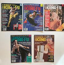 Vintage Inside Kung Fu Lot of 5 Issues 1987/88 Karaté Martial Art Wing Chun