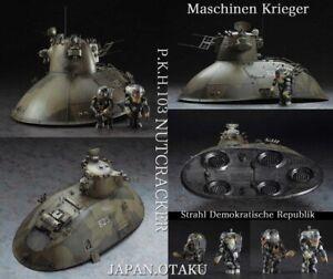 HASEGAWA 1/35 MASCHINEN KRIEGER P.K.H. 103 NUTCRACKER MK04 with Strahl Solder
