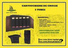Cartouchière de crosse 5 tubes