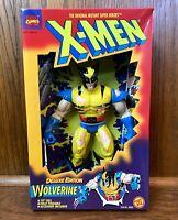 "Battle Damaged Wolverine Vintage X-Men Deluxe 10"" Action Figure New Toybiz 1995"