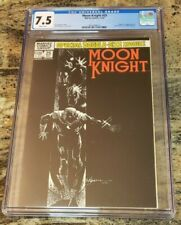 MOON KNIGHT #25 1982 CGC 7.5 ORIGIN & 1ST APPEARANCE BLACK SPECTRE WHITE PAGES