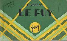 CPA Carnet 20 cartes postales Le Puy (en Velay) Haute-Loire Auvergne 1935