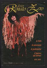 """DOSSIER RENATO ZERO SUPPLEMENTO RIVISTA """"BEST"""" N° 10/1977 FOTO INTERVISTE NEWS"""