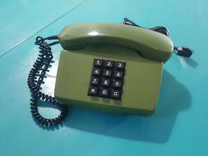 Deutsche Post Telefon FeTAp 751-1 von Siemens Grün Tastentelefon Retro Vintage