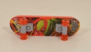 """2013 Raphael Raph Skateboard 4"""" McDonald's Toy #4 Teenage Mutant Ninja Turtles"""