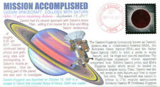 """COVERSCAPE computer generated Cassini Spacecraft """"Mission Accomplished"""" cover"""