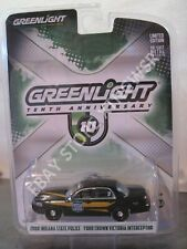 Anniversary Indiana State Police 2008 Ford Crown Victoria Interceptor Greenlight