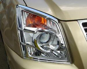 HEAD LAMP COVER  CHROME FOR ISUZU D-MAX  2007 - 2011