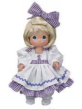 "Precious Moment 12"" Vinyl Doll Blonde by Linda Rick 3rd Edition w Gift Box NEW"