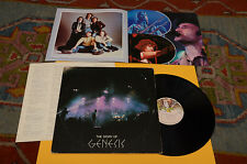 GENESIS 2LP THE STORY OF 1°ST ORIG JAPAN 1978 EX ! CON INSERTO E LIBRETTO !
